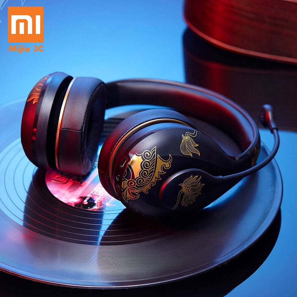 Original Xiaomi Mijia Fashion New Wireless Headphones Bluetooth 4.2 Headset Music Player Volume Control with Microphone Earphone
