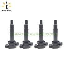 4PCS CHKK-CHKK Car Accessory  90919-02240 Ignition Coil For Toyota Scion xA xB Yaris Echo Prius 1.5 90919-02265