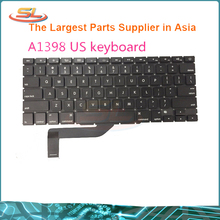 Original New Replacement A1398 US Keyboard for Macbook Pro Retina 15′ 2013-2014 without backlight