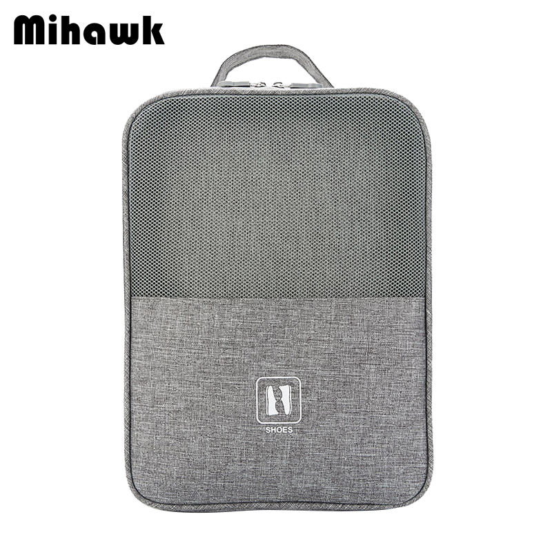 Mihawk Travel Shoes Bag Portable Applies On Luggage Underwear Clothes Dustproof Zipper Pouch Traveling Accessoires Items Supplie