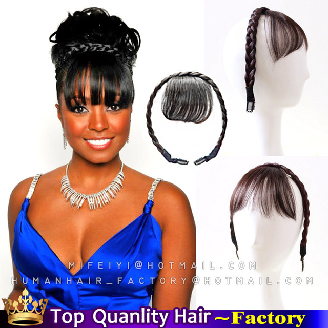 Clip In Bangs Human Hair African American Hairstyle Inspirations 2018