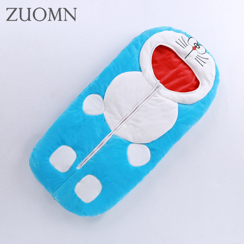 2017 Winter Baby Sleep Bag Cartoon Envelope Baby Winter Sleeping Sack Coral Fleece Infant Swaddle Blankets Bed Warm YL346 free shipping infant children cartoon thick coral cashmere blankets baby nap blanket baby quilt size is 110 135 cm t01 page 2