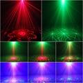 Лазерный Проектор Эффект Свет Этапа ГАММА Мини 3 Объектив 40 Моделей смешивания Дистанционного 3 Вт Синий LED Огни Показать Disco Party Освещение душ