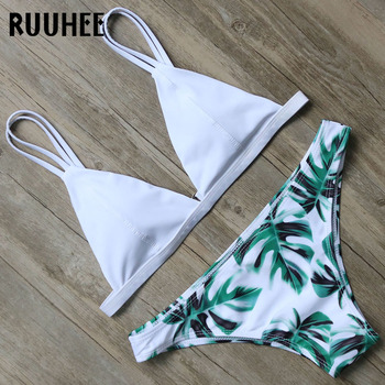 RUUHEE Newest Bikini Swimwear Women Swimsuit Bathing Suit Brazilian Bikini Set 2018 Vintage Printed Padded Beachwear Swimsuit 5