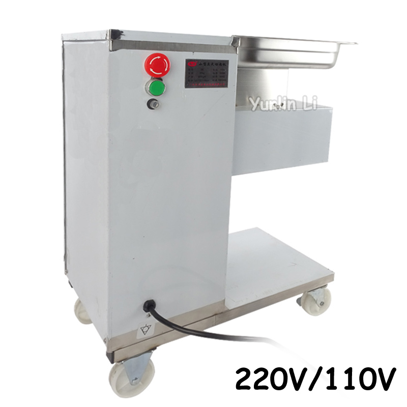 220V/110V Food Processor for Meat Popular Meat Chopping Cutting Machine for Commercial Use Meat Slicer QE wavelets processor