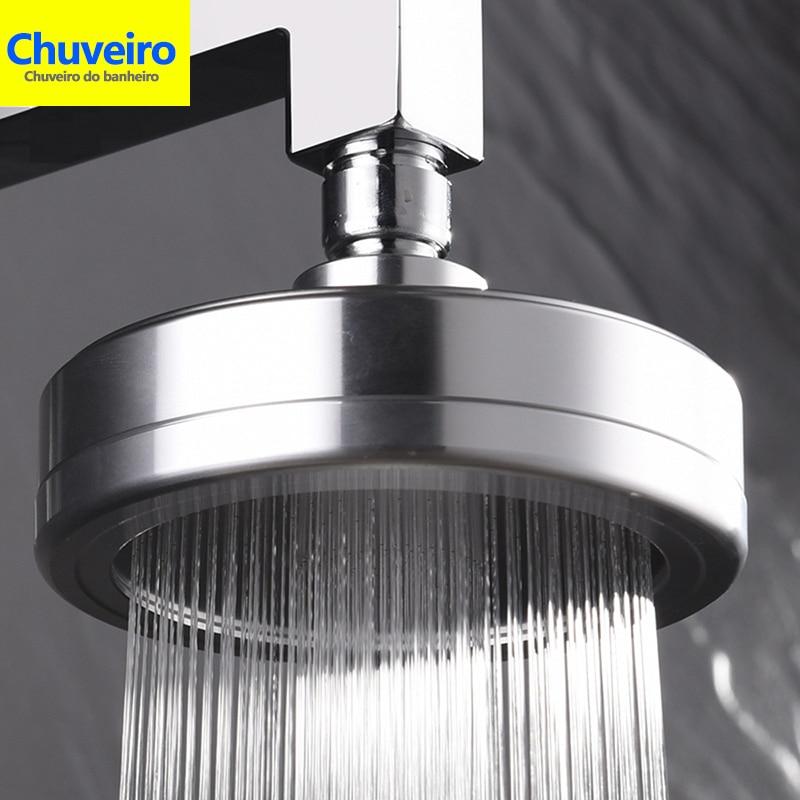 Espaço de Alta Pressão chuveiro de Chuva Cabeça de Chuveiro com Filtro para o Disco Cabeça de Chuveiro Filtro De Água Remove O Cloro e Flúor