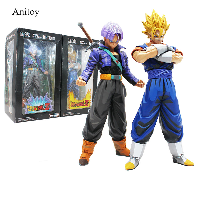 DBZ Anime Dragon Ball Z Master Stars Piece The Vegetto The Trunks Manga Dimension PVC Action Figure Collectible Model Toy KT4188 dragon ball z smsp super master stars piece the vegeta pvc action figure collectible model toy brinquedos 30cm