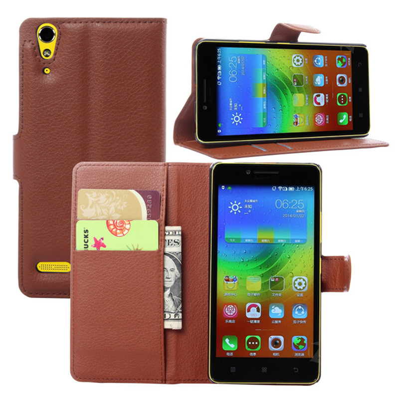 Luxury Wallet PU Leather Silicone Flip Case For <font><b>Lenovo</b></font> <font><b>A</b></font> <font><b>6010</b></font> Plus & <font><b>A</b></font> 6000 Mobile Phone Case Back Cover With Card Holder Stand image