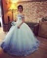 Vestidos de 15 anos DressesTulle Princesa Fiesta de Cumpleaños Larga Victorian Dulce 16 Vestido de Quinceañera Debutante vestido Vestidos