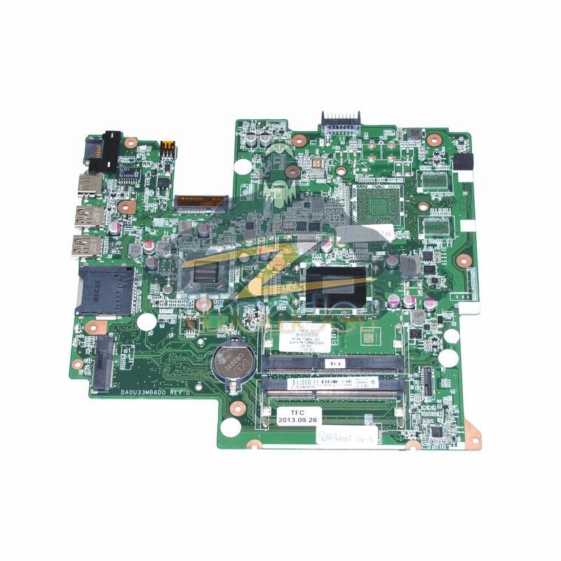 714618-501 715866-501 DA0U33MB6D0 REV D for HP Sleekbook 14-B I3-2367M CPU HM77 HD4000 DDR3 nokotion for hp sleekbook 14 b laptop motherboard 714618 501 715866 501 da0u33mb6d0 with i3 2367m cpu onboard