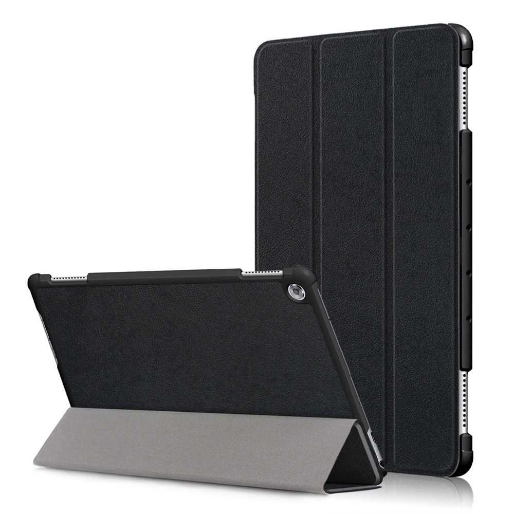 Brand Fashion Stand Leather Case For Huawei Mediapad M5 Lite 10 Cover Case Shell