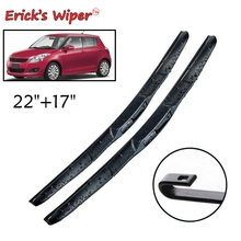 Erick's Wiper Front Hybrid Wiper Blades For Suzuki Swift 2011 - 2017 2016 Windshield Windscreen Front Window 22