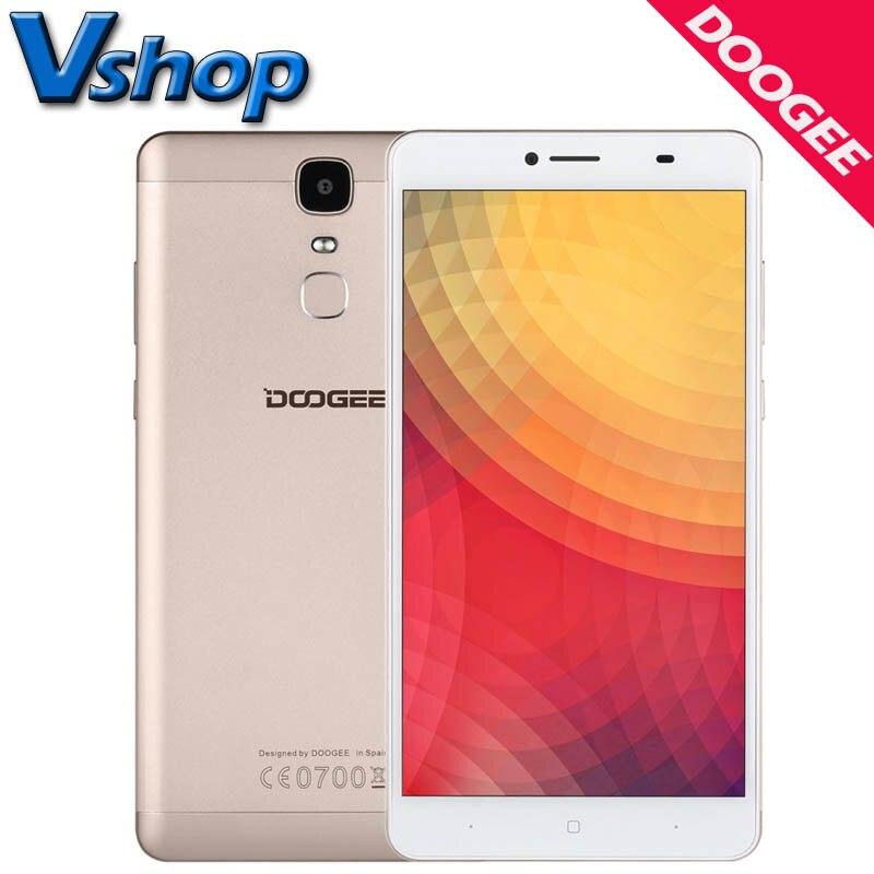 Y6 doogee max 3d 4g lte teléfono móvil del androide 6.0 3 gb ram 32 GB ROM MTK67