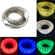 SMD 5050 AC220V LED Strip Flexible Light 60leds/m Waterproof Led Tape LED Light With Power Plug 1M/2M/3M/5M/6M/8M/9M/10M/15M/20M