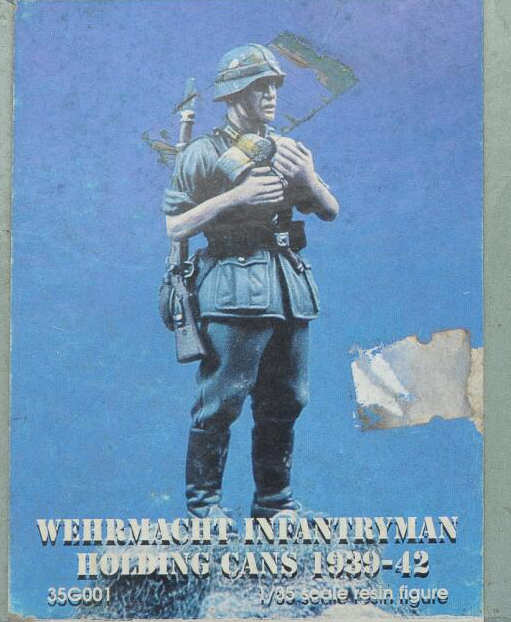 1:35 World War II German Infantry Early Barbarossa