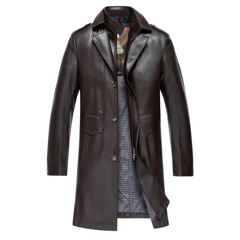 Casual Leather Motorcycle Jacket