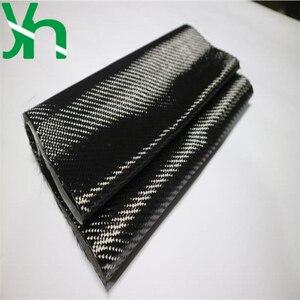Image 3 - משלוח חינם של שחור 3K 200gsm פחמן סיבי בד עובי של 0.2mm, רוחב של 20cm/30cm/50cm/100cm רכב refitting