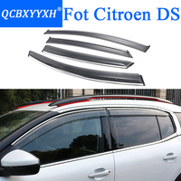 QCBXYYXH Car Styling Awnings Shelters Window Visors rain eyebrow For Citroen C2 C3 XR C4 C5 Aricross C Elysee C4L DS4 DS5 DS6