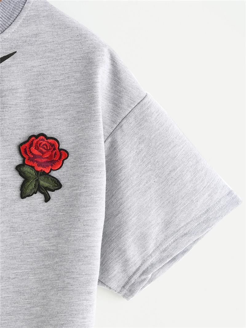 HTB15Z..QFXXXXaxXpXXq6xXFXXXe - Women Summer T-shirts Alien Embroidery PTC 103