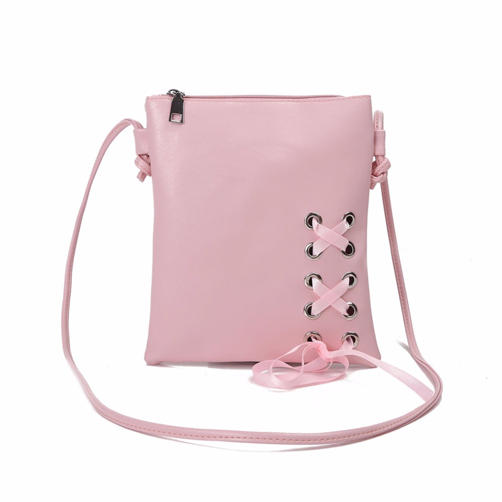 Women Bowknot Mini Phone Bag Casual PU Leather Shoulder Crossbody Bag Female Pink Small Handbag Shopping Party Bag все цены