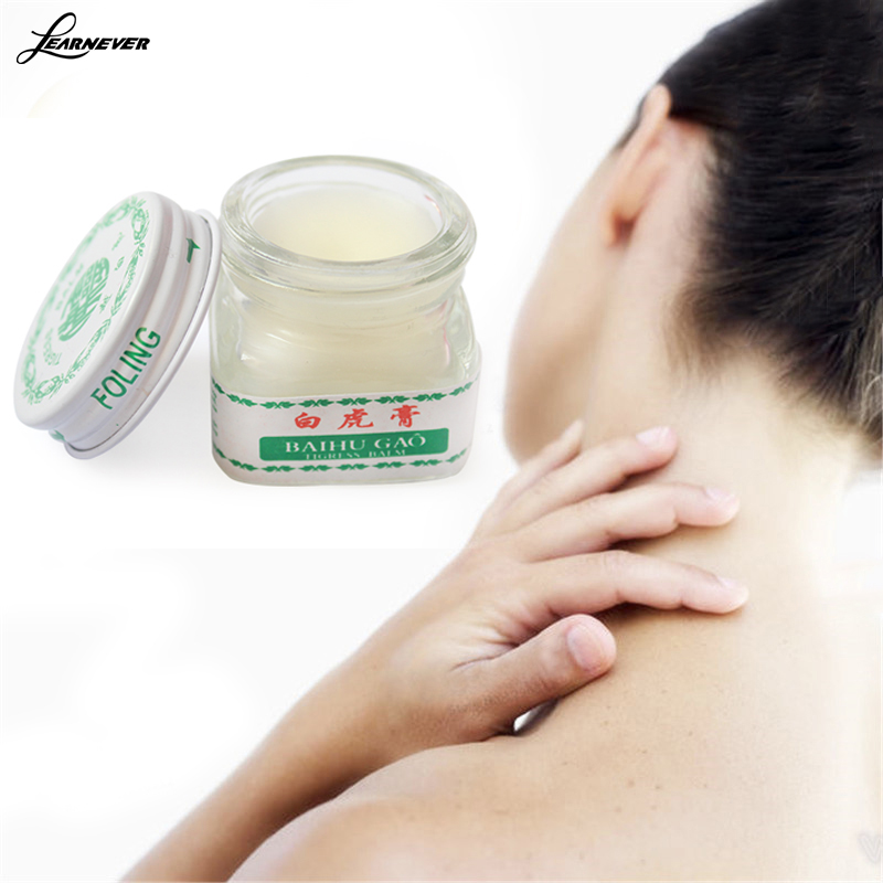 white tiger balm for headaches toothache abdominal pain baume mask Tiger blanc cold dizziness essential balm X072 sumifun 100% original 19 4g red white tiger balm ointment thailand painkiller ointment muscle pain relief ointment soothe itch