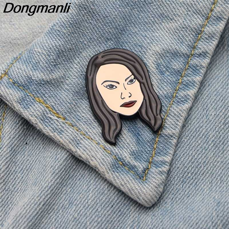 P2600 Dongmanli Riverdale figure art Enamel Pins and Brooches for Women Men Lapel pin backpack bags badge Gifts