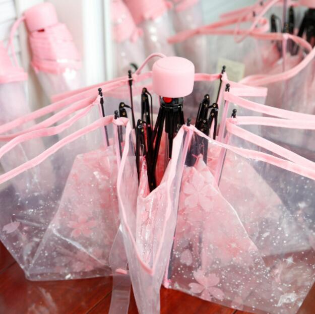 Ыстық сән Мөлдір ашық қолшатыр Шие - Үйге арналған тауарлар - фото 1