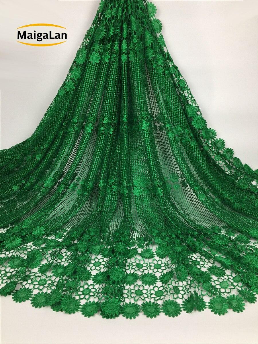 Maigalan 2017 아프리카 레이스 패브릭 자 수 고품질 아프리카 guipure 레이스 fabric. best 판매 아프리카 코드 레이스 SML789 01-에서레이스부터 홈 & 가든 의  그룹 3