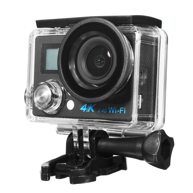 Waterproof Sport Camera 2'' TFT Action Ultra 1.3MP HD 4K Dual Screen WiFi DV CAM 1080p FHD DVR DV Camcorder