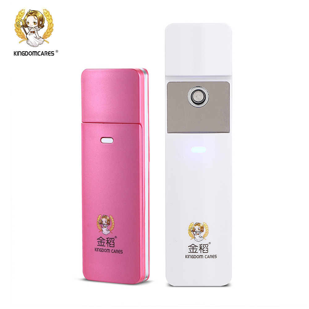 Nano Steamer Handy Mister Facial Mist Spray Moisture Face Sprayer Rechargeable Sliding Mini USB KD777 the best usb rechargeable nano ion hydro spa handy mist sprayer facial mister steamer deep moisturizing personal humidifier