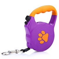 New Retractable 5m Extendable Retractable Dog Pet Lead Training Leash 3m 5m Long Training Rope For