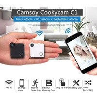 LESHP Mini Smart Wifi Wireless Camera 720P HD IP P2P View Surveillance Camera With Clip Support