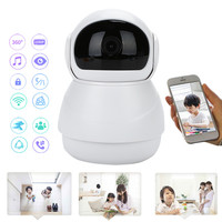 3D Navigation 2MP HD 1080P Baby Monitor Positioning Webcam Mini Wifi Camera IP Camera IR Night Cloud Storage 360 panoramic view