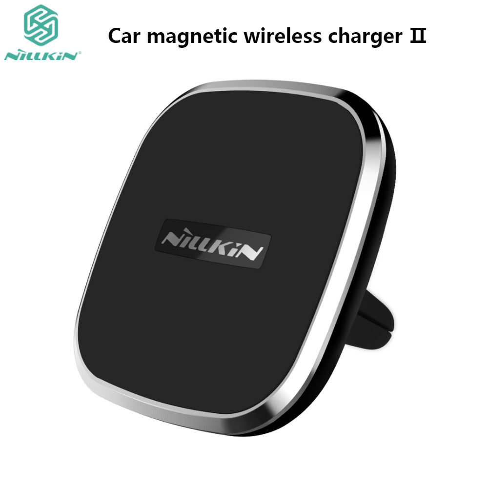 Qi wireless car charger magnetic air vent mount holder