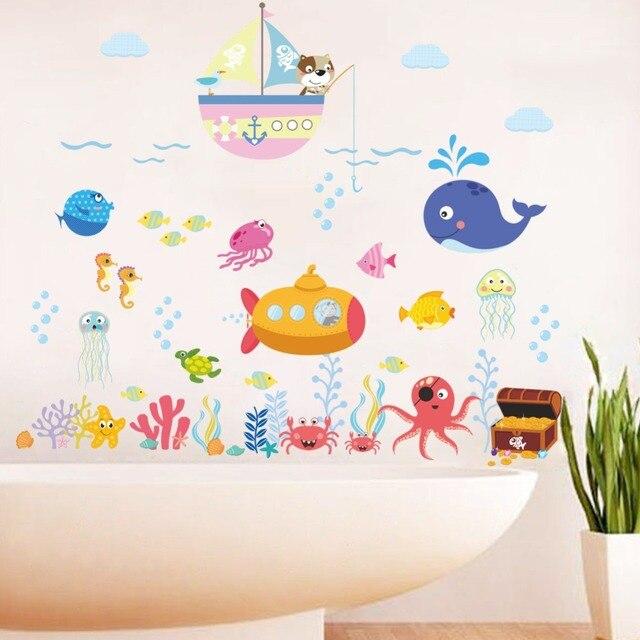 Fish Bubble Wall Stickers 8