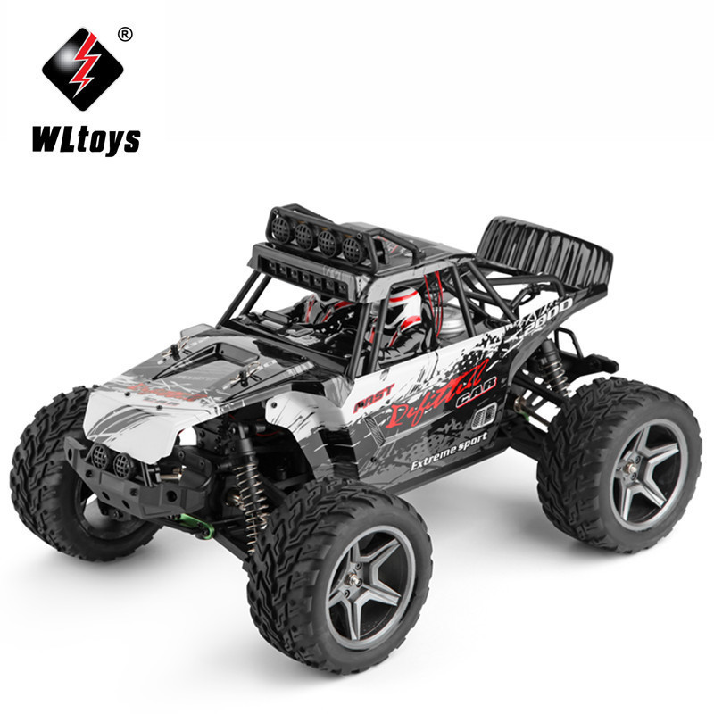 WLtoys 12409 Racing Car 1/12 4WD 2.4G Radio Remote Control High Speed Off-Road Bigfoot Climbing Truck With LED Light Outdoor Toy wltoys 12401 12402 12403 12404 2 4g 1 12 4wd remote control drift off road car bigfoot car short truck competition racing car