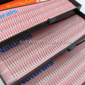 3 Bandejas 12mm 10mm 8mm C-Lash 0.15C Onda Negra de Seda Indivíduo Cílios Postiços Chicote Do Olho Conjunto Kit de extensão FK