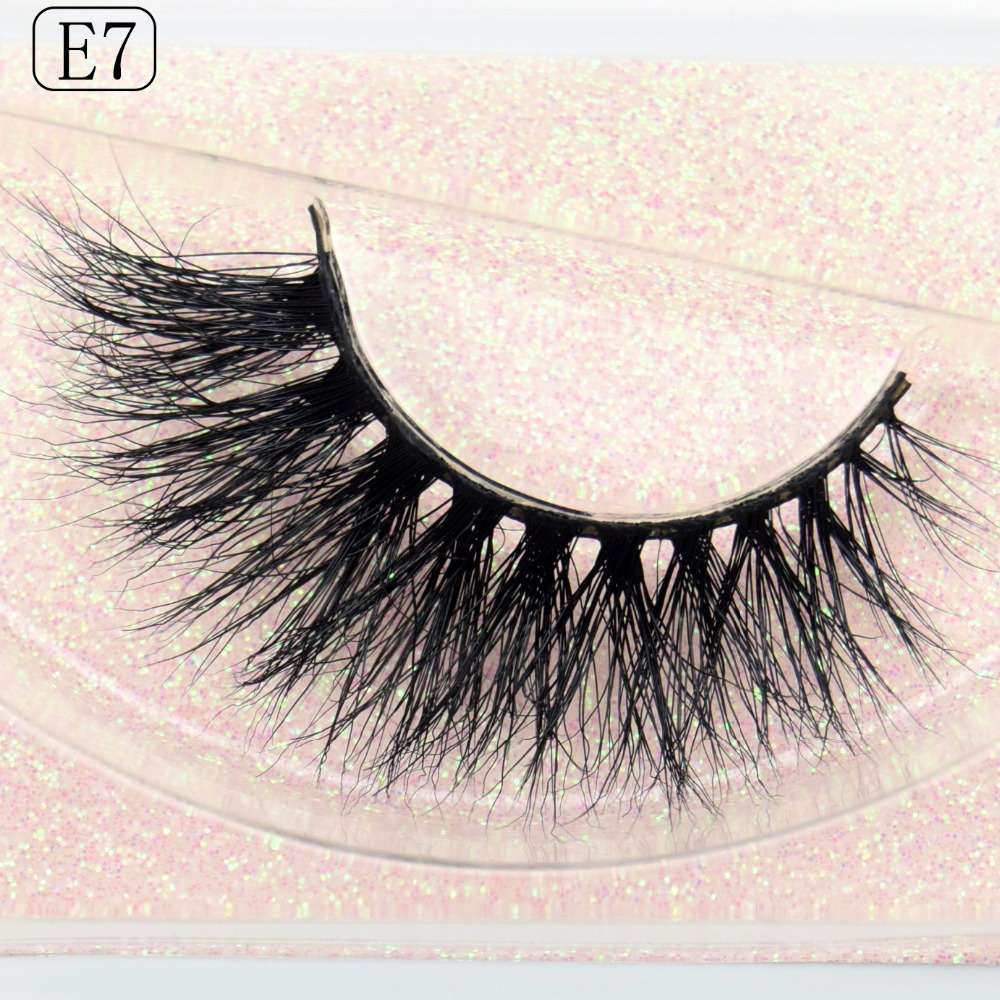 Visofree Eyelashes 3D Mink Eyelashes Long Lasting False Eyelashes Reusable 3D Mink Lashes Lash Extension Make Up Fake Eye Lashes