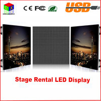 Indoor Aluminum die casting led screen 640 * 640 mm P5 indoor RGB 7 Color rental LED display for stage setting wall led display