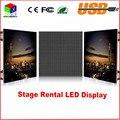 Die-casting De Alumínio interior tela led 640*640mm interior P5 RGB 7 Cores LED aluguer de exibição para estágio cenário parede levou exibição
