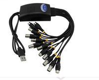כרטיס לכידת USB D1 ערוצים בחדות גבוהה מעקב שעון טלפון כרטיס כרטיס לכידת וידאו תמיכת WIN7 64