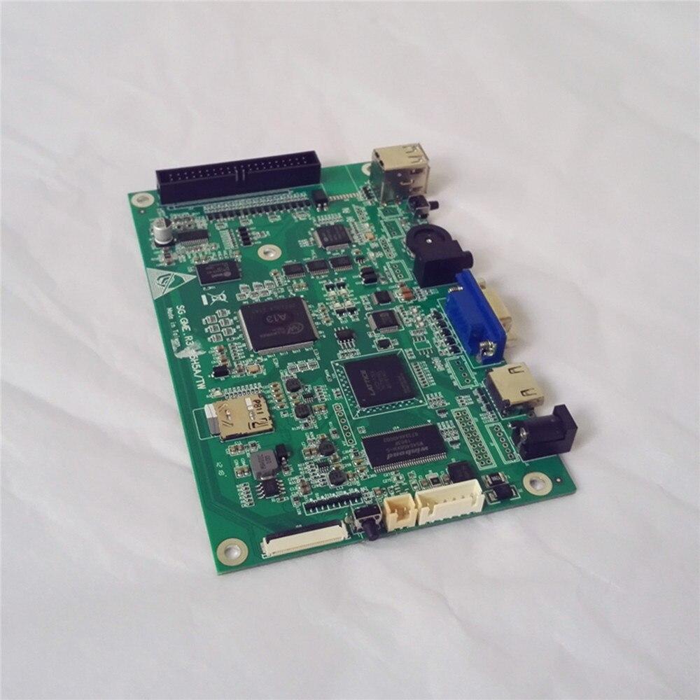 1399 dans 1 Arcade Jeux PCB Carte Mère Pour pandora box 6 S VGA HMDI Vidéo Contrôle carte PCB Pour Moniteurs TV PC PS3 Projecteur