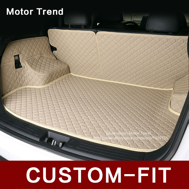 WeatherTech Custom Fit Cargo Liners for BMW 7-Series Black