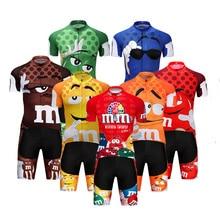 Crossrider 2019 Maillot de cyclisme drôle vtt VTT vêtements hommes ensemble court Ropa Ciclismo vêtements de vélo vêtements Maillot Culotte