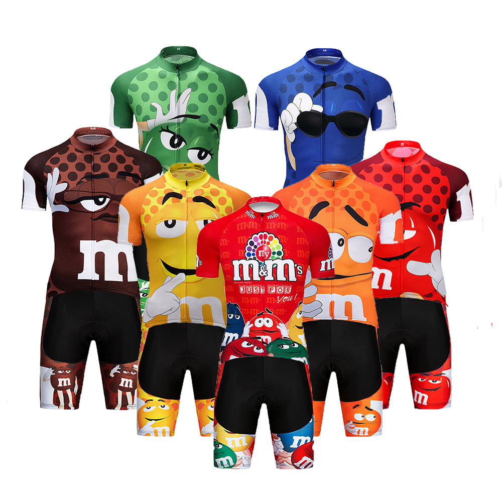 Crossrider 2020 Funny Cycling Jersey MTB Mountain bike Clothing Men Short Set Ropa Ciclismo Bicycle Wear Clothes Maillot Culotte