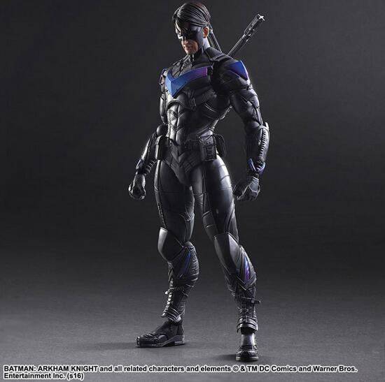 New Batman Action Figure Movie Cartoon Bat-Man Nightwing 26cm PVC Model Collect Anime Model Toys Juguetes kids toys 141 game figure 10cm darius the hand of noxus pvc action figure kids model toys collectible games cartoon juguetes brinquedos hot