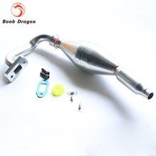 Выхлопная Труба для 1/5 FG Hobbypro Smartech Карсон и XRC Автомобили