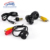 HD CCD Car Câmara de Visão Traseira com 8 LED de luz e Anti fog Car estacionamento camera 170 graus de largura ângulo de visão para carro