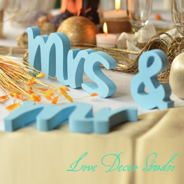 Aliexpress.com : Buy Wedding decor Top table Mr & Mrs wedding ...