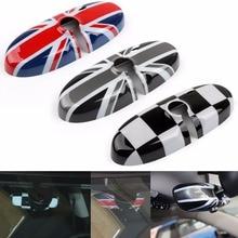 Areyourshop зеркало заднего вида покрытия Корпус для MINI Cooper R55 R56 R57 ABS пластик мода Стилизация автомобиля
